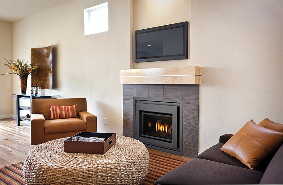Special Condo fireplace-E18 – $300 FortisBC rebate!