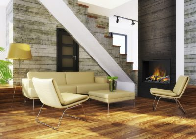 Opti-myst fireplace