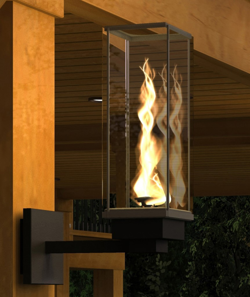 Tempest Torch Close Up Bc Fireplace Service Inc